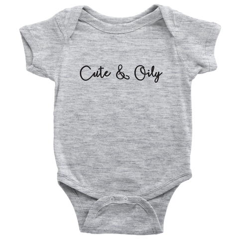 Cute and Oily Essential Oils Baby Outfit