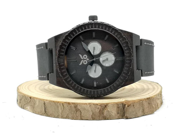Venom vs Darth Vador Wooden Watch & Ring Combo