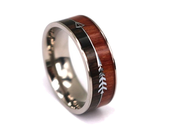 Robin Hood - Titanium Wooden Rings - Touchwood