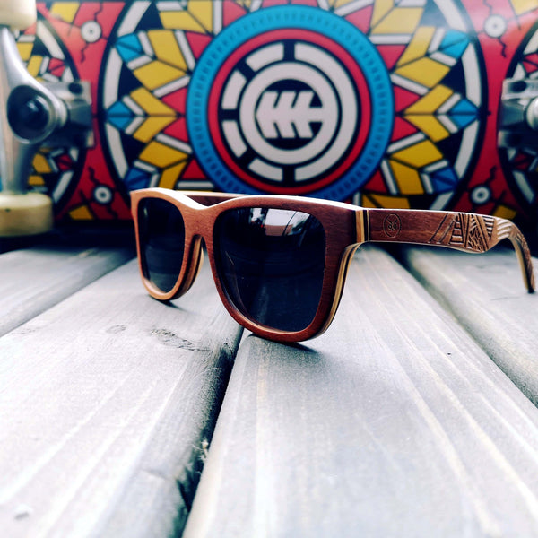 The Tribal - Wooden Sunglasses - Wooden Sunglasses - Touchwood