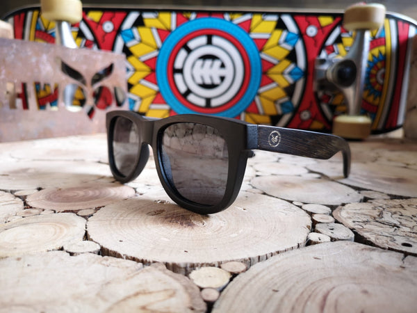 Brown Bamboo Wooden Sunglasses