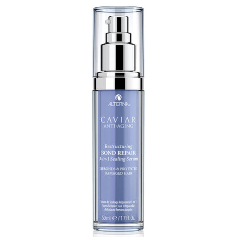 ALTERNA HAIRCARE CAVIAR Anti-Aging® Restructuring Bond Repair 3-in-1 Sealing Serum