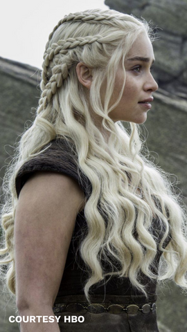 how to recreate khaleesi's hairstyles