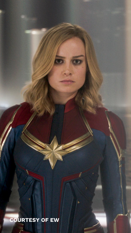 captain marvel hairstyle