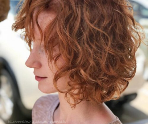 curly shag hairstyle for valentine's day