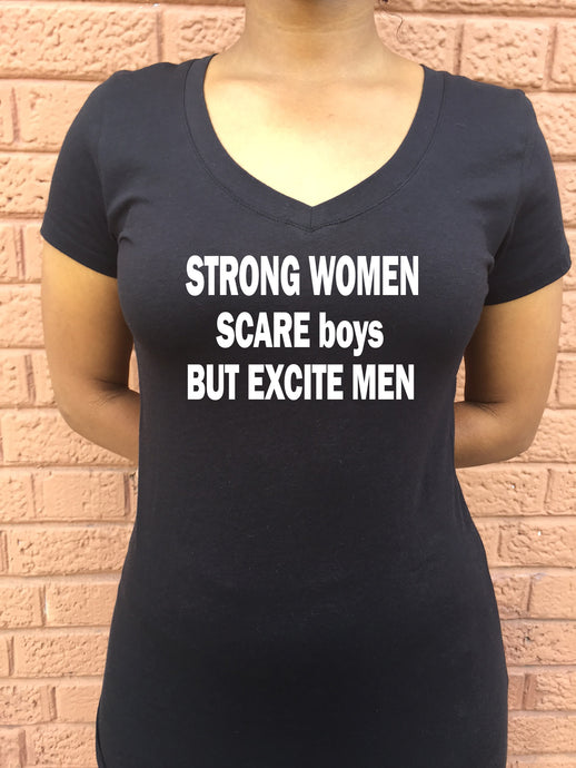 Strong Women Scare Boys But Excite Men