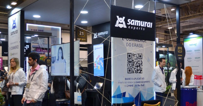 Samurai Experts no Fórum E-commerce Brasil