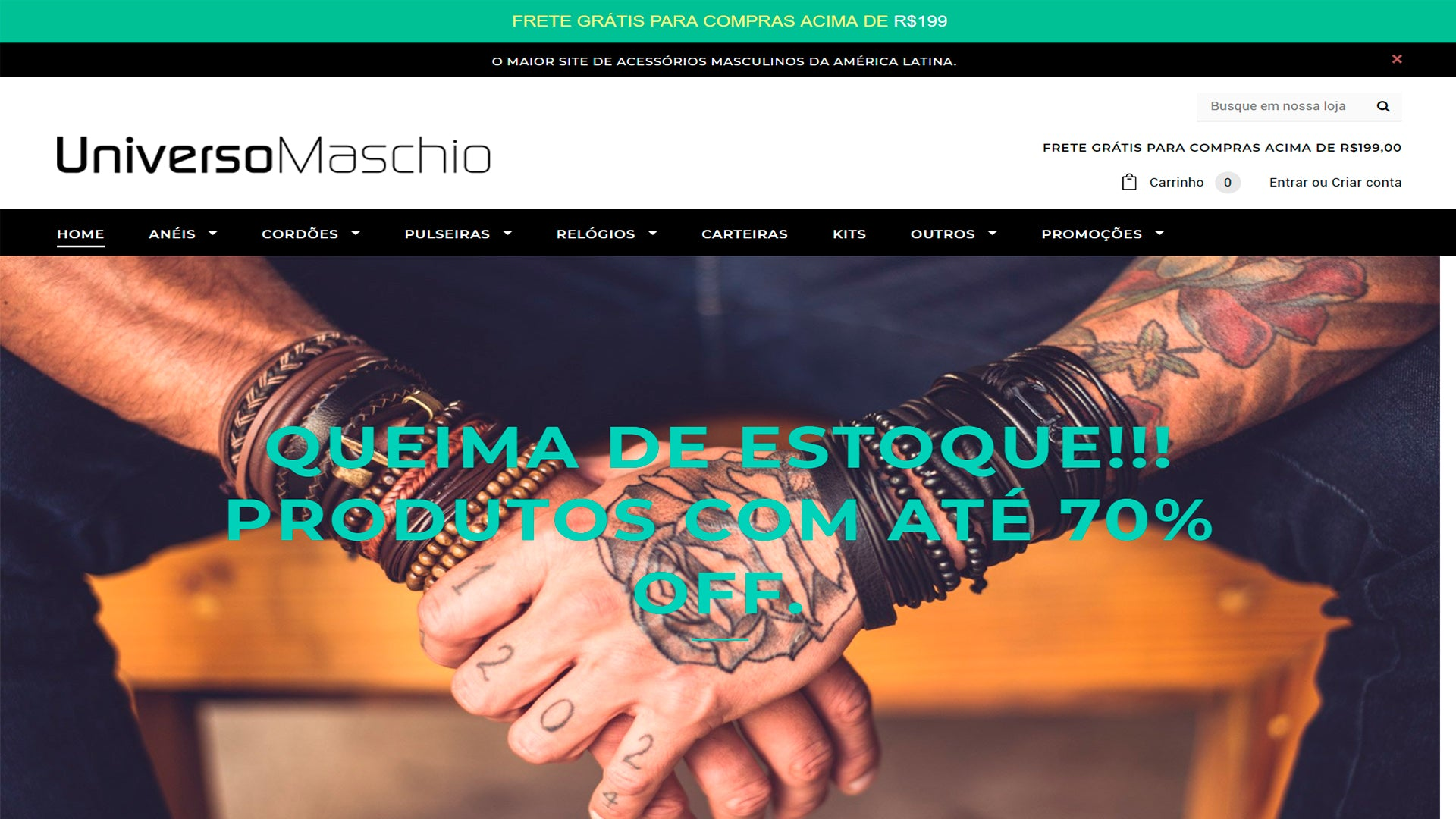 Universo Maschio - Shopify Experts
