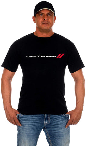 Men's Dodge Challenger T-Shirt Short Sleeve Crew Neck Shirt-T-Shirt-JH Design-Small-AFC