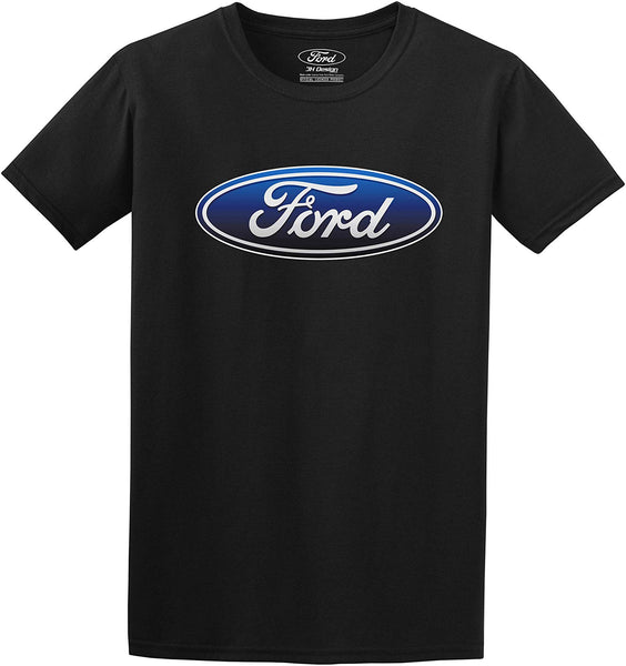 Men's Ford Oval Logo Black T-Shirt