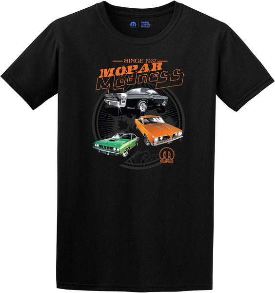 Men's MOPAR Maddness T-Shirt Short Sleeve Crew Neck Shirt-T-Shirt-JH Design-Small-AFC