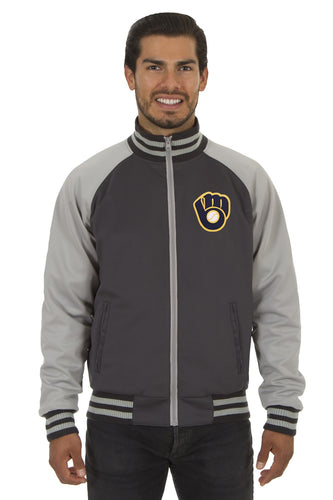 Milwaukee Brewers Reversible Track Jacket