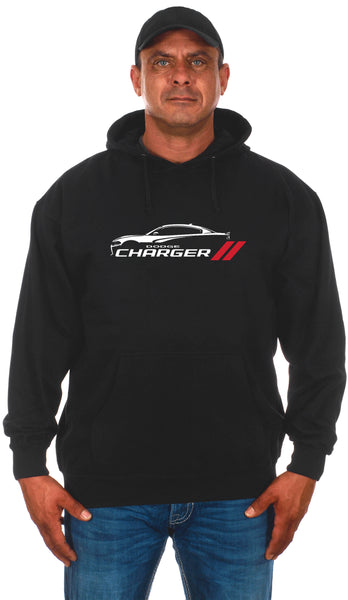 Men's Dodge Charger Silhouette Pullover Hoodie
