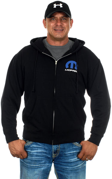 Mens Mopar Logo Zip up Hoodie Full Sleeves Sweatshirt-Hoodie-JH Design-Small-AFC