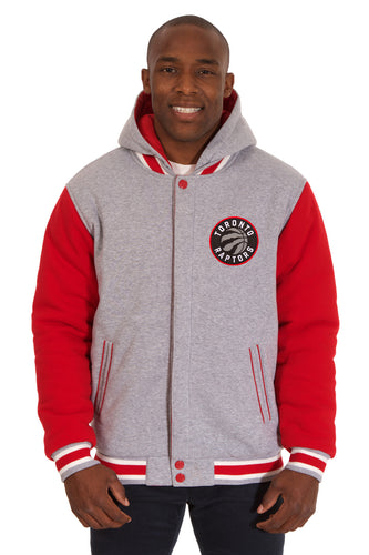 Toronto Raptors NBA Mens Reversible Fleece Hoodie Jacket