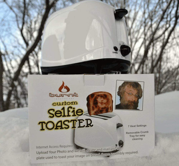 the Selfie Toaster™ ~ US & Canadian Version