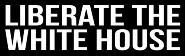 Liberate the White House Bumper Sticker (10 pack)