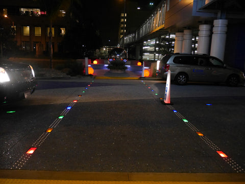 LED pavers for roadways and driveways