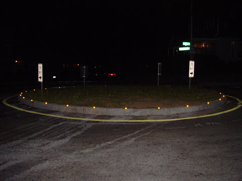 reflective curb markers