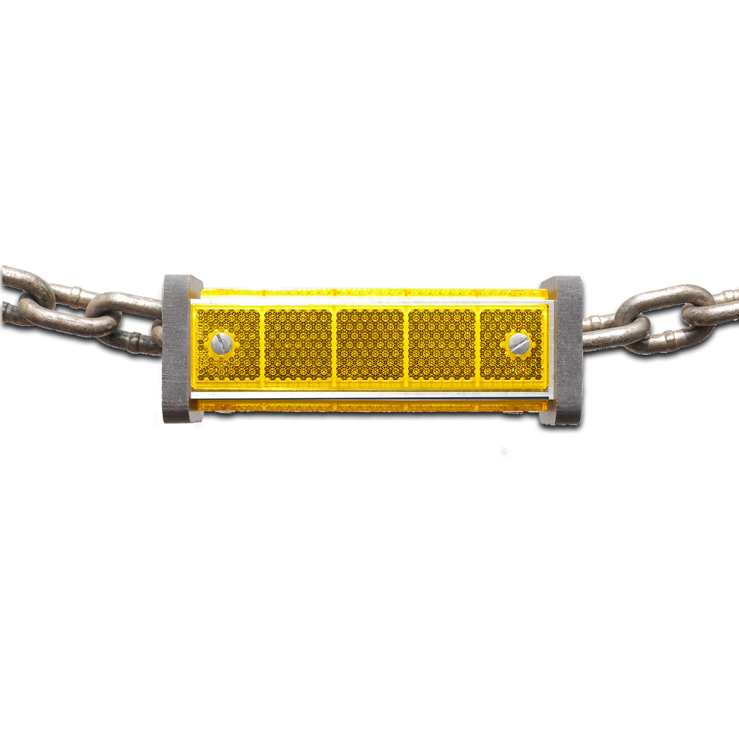 Yellow chain reflector