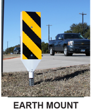 Load image into Gallery viewer, FLEXIBLE CROSSWALK SIGN