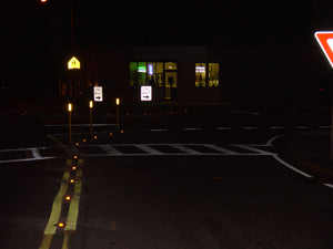 OptiCurb Reflective 360 degree curb markers