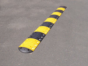 Speed Bumps All Sizes, Fully Modular Alternating Yellow & Black