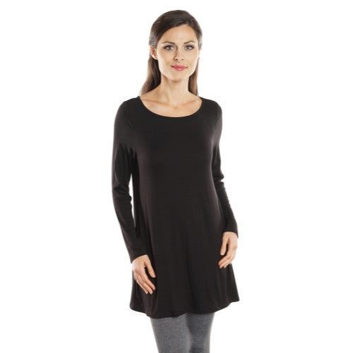 Women's Loose Fit Long Sleeve Tunic