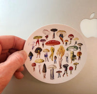 Mushroom Patch sticker