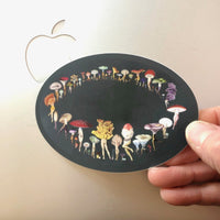 Green Fairy Ring sticker