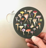 Mushroom Troop sticker