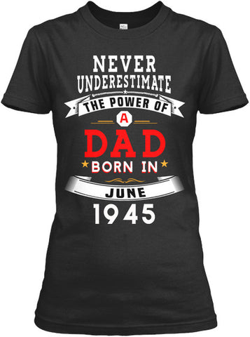 FATHER'S DAY GIFT DAD BORN JUNE 1945
