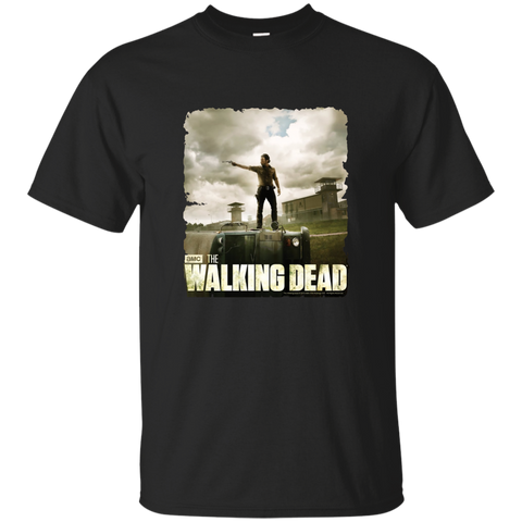 The Walking Dead Prison T-Shirt Custom Ultra Cotton T-Shirt