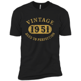 66 years old 66th Birthday B-day Gift Vintage 1951 T-Shirt Next Level Premium Short Sleeve Tee
