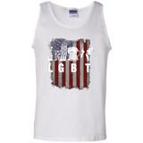 Liberty Guns Beer Trump Parody LGBT Shirt 100% Cotton Tank Top