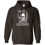 Life Begins At Forty Five-1972 The Birth Of Legends cool shirt Pullover Hoodie 8 oz