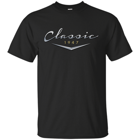 Men's Vintage Classic 1947 T Shirt / 70th Birthday Gifts for Him Custom Ultra Cotton T-Shirt