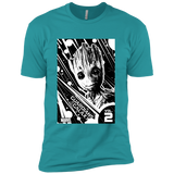 Marvel Groot Guardians of the Galaxy 2 Light Graphic T-Shirt Next Level Premium Short Sleeve Tee
