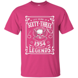 Life begins at 63 - 1954 - the birth of legends (v.2017) Custom Ultra Cotton T-Shirt
