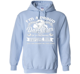 Mothers Day Shirts, Proud Daughter Of Awesome Mom Shirt  - mother's day