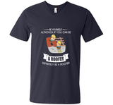 Funny Be Yourself Roofer T-shirt Fathers Day Birthday Gift