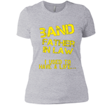 Funny Band Father In Law T-shirt Fathers Day Birthday Gift