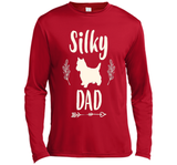 Silky Dog Dad Shirt Father's Day Dog Lover Gifts for Him