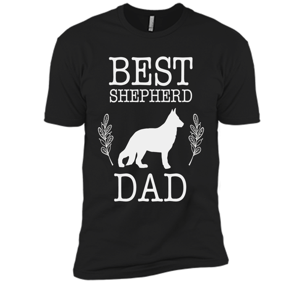 Best German Shepherd Dad Shirt Father's Day Gift Dog Lover