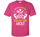 Funny Im That Awesome Cook T-shirt Fathers Day Birthday Chef