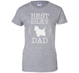 Best Silky Dad Shirt Father's Day Gift for Dog Lover