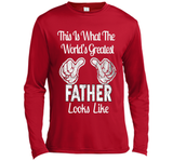Father's Day Gift World's Greatest Father Looks Like T-shirt