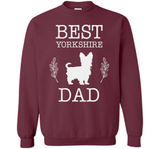 Best Yorkshire Dad Shirt Father's Day Gift Dog Lover Daddy