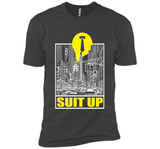 Funny Suit Up T-shirt Fathers Day Birthday Meme Daddy Gift