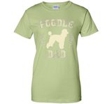 Men's Poodle Dad Shirt Dog Lover Father's Day Gift for Men